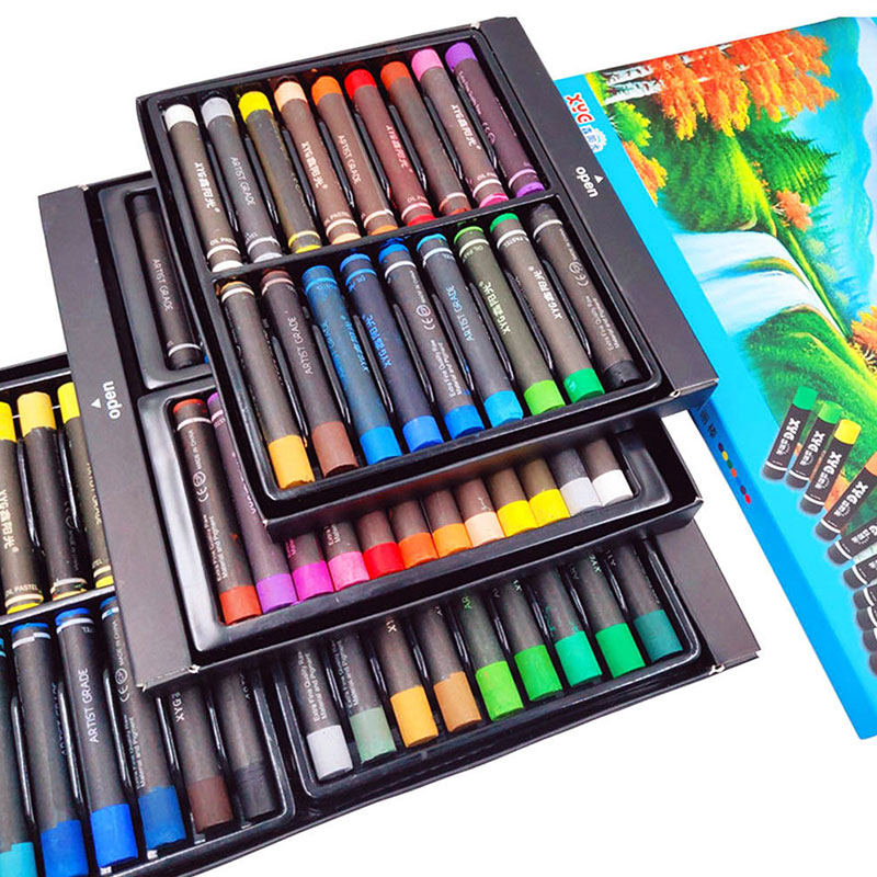Oil Pastels 36 Oily Pastel Sticks Children Environmentally Friendly Crayon Painting Bar Studio Dedicated To Crayons Pencil Set|Oil Pastel| |  - title=