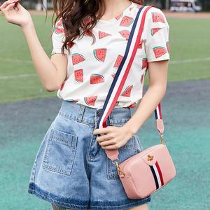 Image 4 - Vrouwelijke Casual Rechthoek Mini Draagbare Single schoudertas PU Lederen Phone Coin Bag nieuwe trend Handtas Crossbody Tas