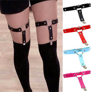 Garter Belt Suspender-Strap Leg-Harness Tight Punk Elasticity Harajuku Heart Sexy Women