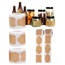 150PCs/Roll Waterproof Self-adhesive Labels Stickers Kitchen Spice Label Jam Jar Bottle Tags Gifts Box Package Label