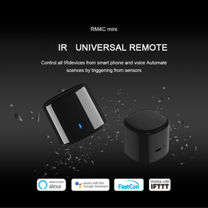 Image 4 - Broadlink FastCon RM פרו RM4 RM4C מיני IR + RF + 4G אוניברסלי אינטליגנטי בית חכם שלט רחוק בקר עבור גוגל בית Alexa
