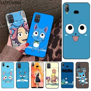 Happy Felice Fairy Tail Phone Case For Samsung Galaxy A21S A01 A11 A31 A81 A10 A20E A30 A40 A50 A70 A80 A71 A51 image