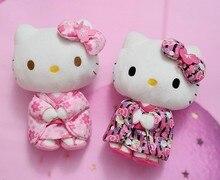Kitty peluş oyuncaklar dolması hayvan yumuşak bebek çocuk doğum günü noel hediye karikatür Anime oyuncak