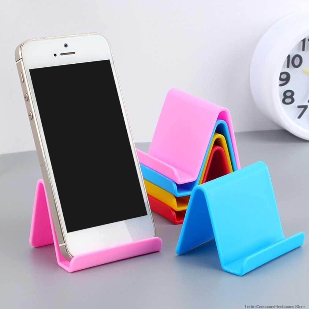 Mini portatil para teléfono móvil soporte fijo de caramelo suministros para el hogar accesorios de cocina decoración teléfono dropshipping