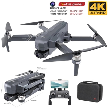 SHAREFUNBAY Drone Professional 4K HD Camera Gimbal Dron Brushless 5G Wifi Gps System Supports 64G TF Card RC Quadcopter