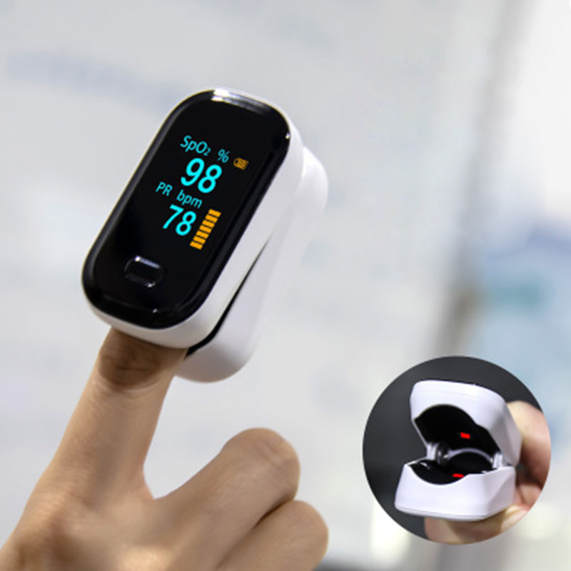 OFit-2 Finger-Clamp Pulse Oximeter Medical Finger Blood Oxygen Saturometro Heart De Oximeter Portable Pulse Oximetro Monitor