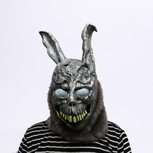 Horror mask Evil rabbit Halloween Masks Cosplay Performance props Holiday party Funny Donnie Darko FRANK Toys