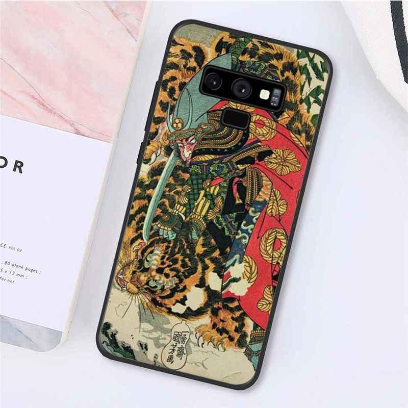 Funda de teléfono Yinuoda estilo japonés grúa Fuji montaña ola para Samsung Galaxy Note7 8 9 5 10 Pro A50 J5 J6 Prime J7