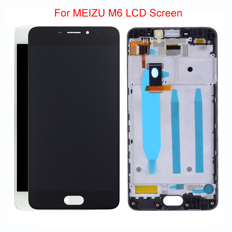 5.2''Original <font><b>LCD</b></font> For <font><b>MEIZU</b></font> <font><b>M6</b></font> <font><b>LCD</b></font> Display Touch Screen Digitizer with Frame for <font><b>Meizu</b></font> <font><b>M6</b></font> M711H M711M M711Q <font><b>LCD</b></font> Replacement image