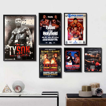 Mike Tyson Memorabilia Posters