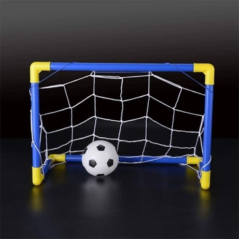 Folding Mini Football Soccer Goal Post Net Set with Pump Kids Sport Indoor Outdoor Games Toys Child Birthday Gift Plastic children s soccer toys kindergarten babies indoor mini soccer indoor games indoor games indoor games toys for boys