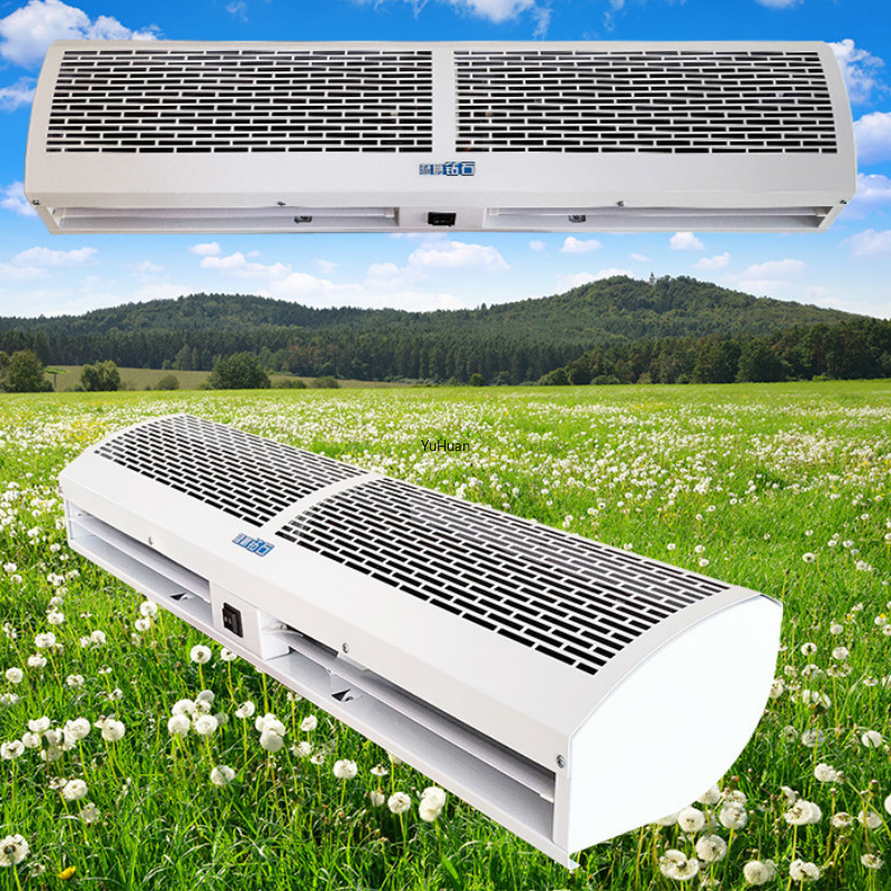 0.6M / 0.9/1.2 /1.5 / 1.8 /2 Meter Cold Storage Air Curtain Machine Commercial Mute Cross Flow  Air Doors