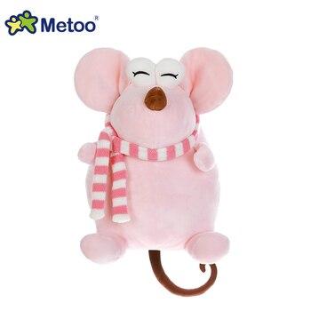 Мягкая плюшевая игрушка крыса Metoo, 24 см. 6