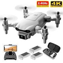 4drc v9 novo mini drone 4k 1080p hd câmera wifi fpv pressão de ar altitude segurar cinza zangão dobrável quadcopter # g31