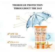 Vutamin C Spf 50++ солнцезащитный крем Водонепроницаемый Увлажняющий солнцезащитный блок основательное Отбеливание Изоляция масла контроль ухода за кожей