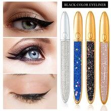 Magic Lashes Self-adhesive Liquid Eyeliner Pen Glue-free Magnetic-free Makeup Waterproof Eye Liner Pencil Wholesale