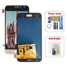 Для Samsung Galaxy J1 2016 LCD J120 SM J120F J120M J120H J120G ЖК-дисплей панель сенсорный экран дигитайзер Датчик в сборе