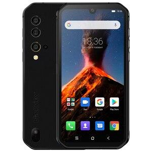 Смартфон Blackview BV9900 NFC, 8 ГБ ОЗУ 256 Гб ПЗУ, Восьмиядерный Helio P90, 4G, прочный, 4380 мАч, Android 9,0, IP68 водонепроницаемый мобильный телефон