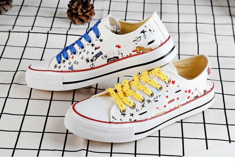 Kpop Bangtan Boys Low Tops Shoes Jungkook Jimin V Suga Women Casual Shoes Ship From Us Dropping Shipping