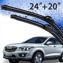 24 20 Driver And Passenger Side Wiper Blade for 2010-2013 Hyundai Genesis Coupe , 2010-2016 Kia Soul 2011-2015 Sorento