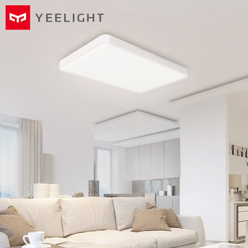 Yeelight Simples LED Luz De Teto Inteligente Pro Para Sala Bluetooth/Wifi/App Controle Remoto Ceil Lâmpada À Prova de Poeira 90W Iluminação