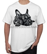 T shirt Herren Frauen Childs Kinder kinder T-shirt französisch bulldog pet welpen hund(China)