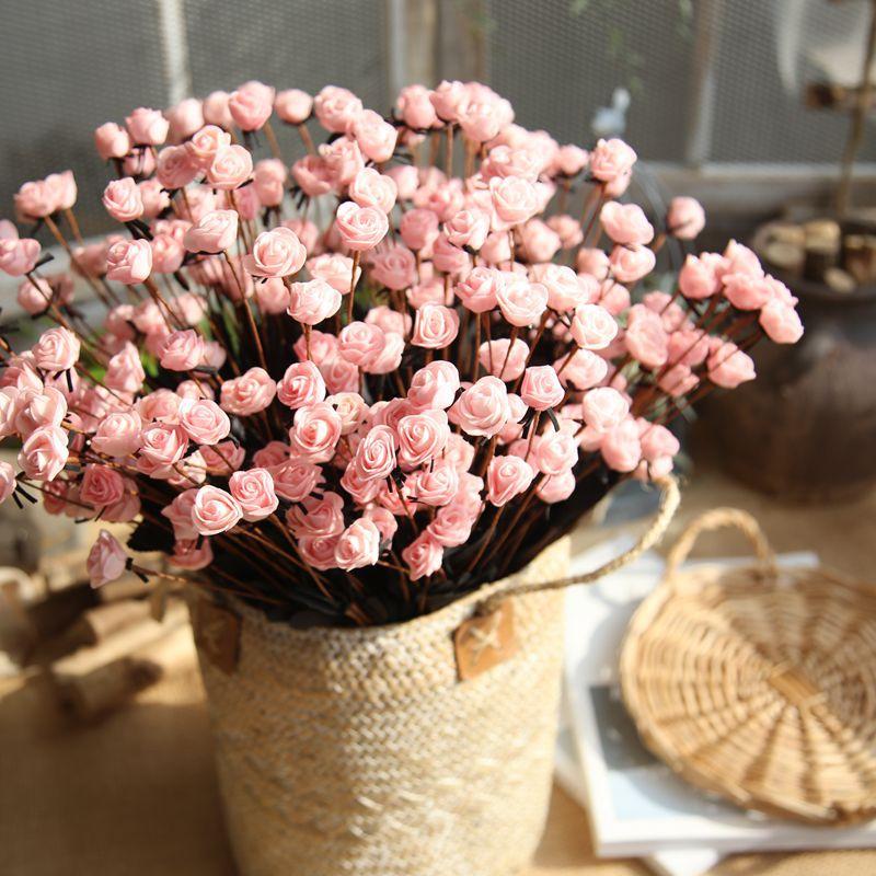 Blumen san valentin regalo boite drages de mariage matrimonio flor artificial cadeau saint rosas espuma flores kwiaty ogroowe