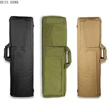 85センチメートル/100センチメートル軍事戦術的な銃バッグ狩猟ライフル銃キャリーバッグエアガンライフルケース狩猟バッグ狙撃ガン保護ケース