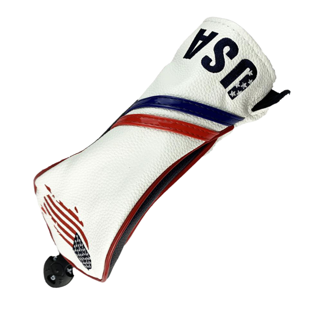 Golf Club Head Covers Woods Headcovers Men Women Long Neck 3,4,5,6,X With Interchangeable Number Tag For Golf Club
