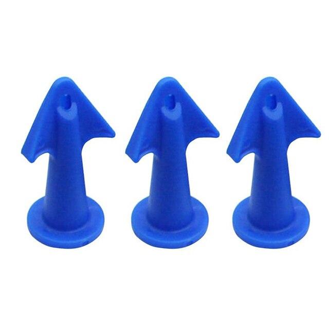 3pcs Multi-functional Silicone Sealant Nozzle Scraper Floor Caulking Tools Silicone Sealant Nozzles Kit Home Improvement 6