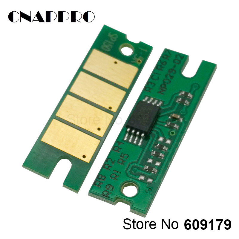 3PCS SP150 SP150he Toner Chip For Ricoh SP150su SP150w SP150suw SP 150 150SU 150w 150SUw 150he Printer Cartridge Refill Reset
