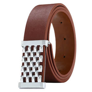 JAYCOSIN Belts Unisex Genuine Leather PU Strap Belts For Men Alloy Quality Automatic