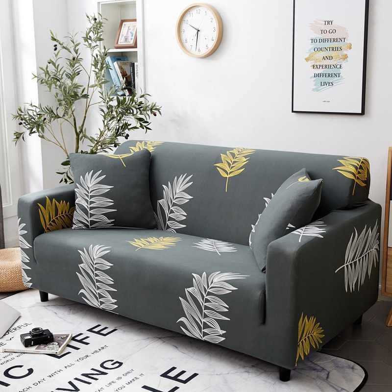 هندسية غطاء أريكة مرونة غطاء أريكة لغرفة المعيشة الزاوية غطاء أريكة s دنة غطاء أريكة L على شكل مجموعة حامي أثاث