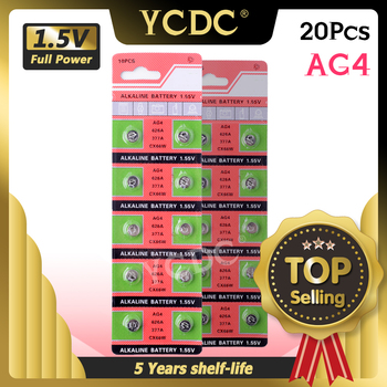 3 28 duża promocja 20 sztuk 2 karty Ag4 na sprzedaż LR626 377 177 1 5V SR626 bateria litowa SR626SW LR66 rozmiar 7 9*3 6mm tanie i dobre opinie YCDC CN (pochodzenie) 1 55V About 6 81mm 0 27 Other ag4 button coin cells China (Mainland) camcorders PDAs remote controls electronic instruments