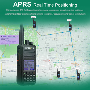 Image 5 - Dual Band DMR Radio Digital Walkie Talkie (GPS)  2pcs Retevis RT3S VHF UHF DCDM TDMA Ham Radio Hf Transceiver+ Programming Cable
