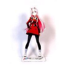Querido no franxx zero dois 02 código 002 gm # a estilo acrílico suporte figura modelo placa titular bolo topper anime