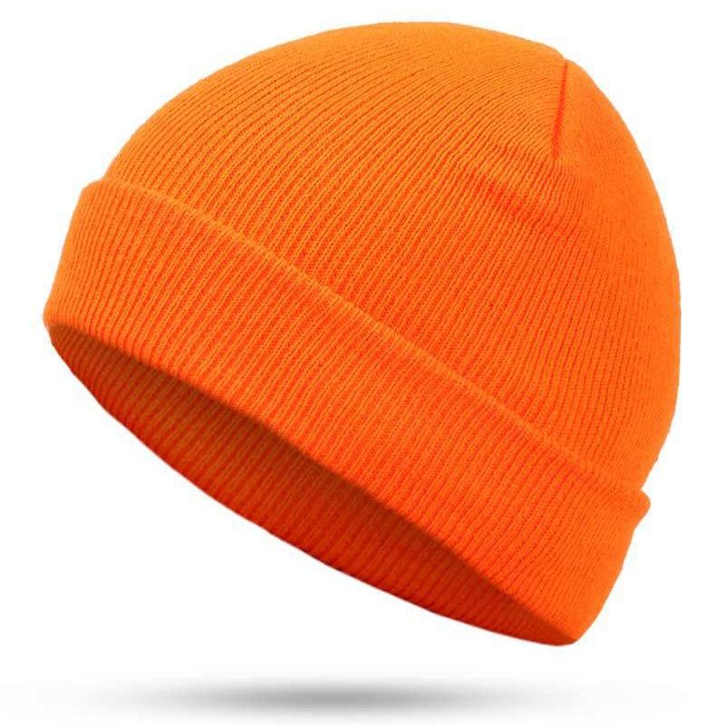 Hat Hip-Hop hedging cap red blue black orange stretch Knit   Beanies   autumn Winter Hat for Man Woman Ski Cap bonnet Невинная шапка
