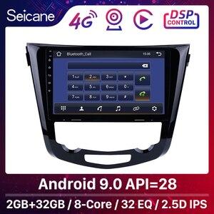 Image 1 - Seicane android 9.1 quad core 10.1 Polegada rádio do carro gps navi multimídia player para 2013 2014 2015 2016 nissan qashqai x trail