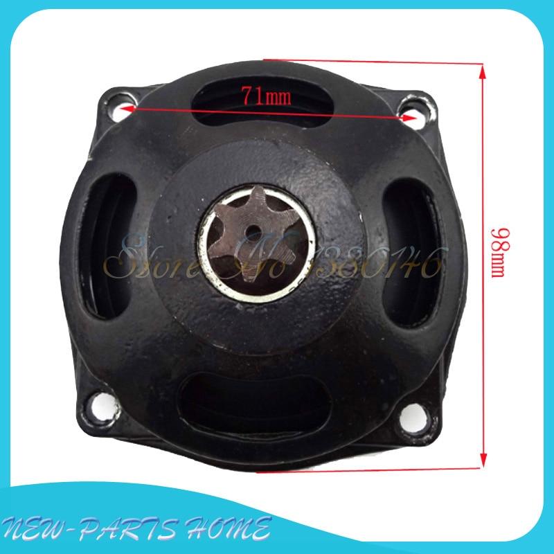47cc 49cc Minimoto Mini Moto Quad Clutch Bell Housing 7T Pinion Sprocket Cover
