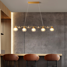 Lighting Bean-Pendant-Lights Hanging-Lamp Nordic-Luxurious Glass G9-Bulb Restaurant-Bar