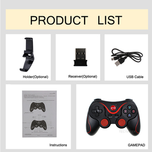 Image 5 - T3 X3  Wireless Joystick Bluetooth 3.0 Gamepad Gaming Controller Gaming Remote Control for Tablet PC Android Smart mobile phone