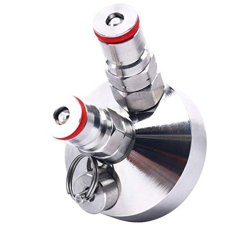 ELEG-Ball Lock Mini Keg Tap Dispenser For Mini Beer Keg Stainless Steel Dispenser Growler Homebrew Spear 3.6L/5L/10L Beer Tool