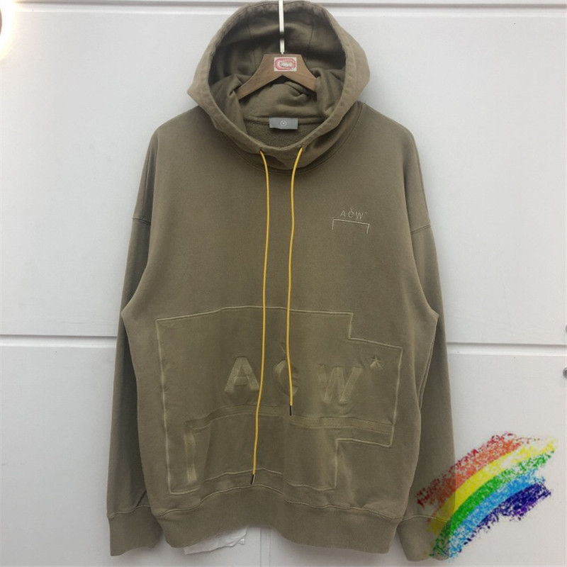 ACW Tick Keep Warm A-COLD-WALL Hoodie Hooded Men Women Best Quality Washed Do Old A-COLD-WALL ACW Sweatshirts