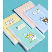 1PC New A4 enclosure A3 Inner 20/30/40 Pages Transparent Insert Folder Document Storage Bag for Bank Campus File Office Student