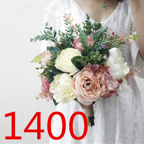 Bride Married All Kinds Of Holding Flowers 3205 AE
