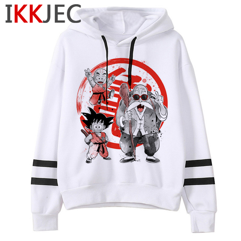 Dragon Ball Z Japanese Anime Funny Cartoon Hoodies Men/women Super Saiyan Kawaii Sweatshirts Son Goku Hip Hop Hoofy Male/female