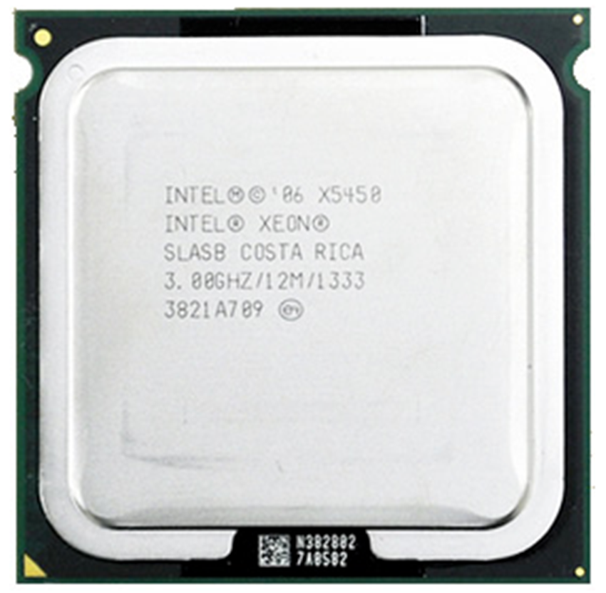 INTEL XONE X5450 INTEL X5450 775 quad core 4 core 3.0MHZ LeveL2 12M Work on LGA 775 motherboard