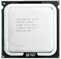 INTEL XONE X5450 INTEL X5450 775 quad core 4 core 3,0 MHZ LeveL2 12M работает на материнской плате LGA 775