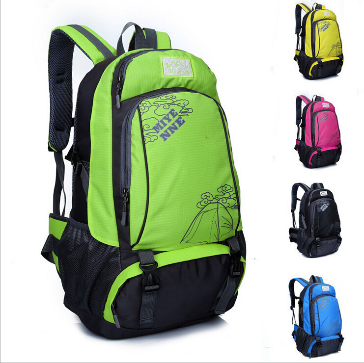 Camping Outdoor Sports Shuang Bei Bao Men And Women-Waterproof Mountain Climbing Backpack
