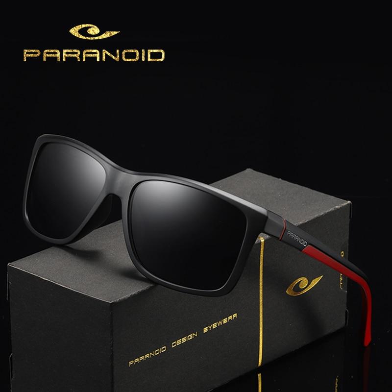 DUBERY Vintage Sunglasses Polarized Men's Sun Glasses For Men Driving Black Square Oculos Male 8 Colors Model 8652